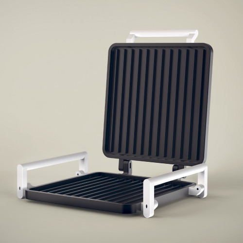 B&B (NON)electric Grill - Open