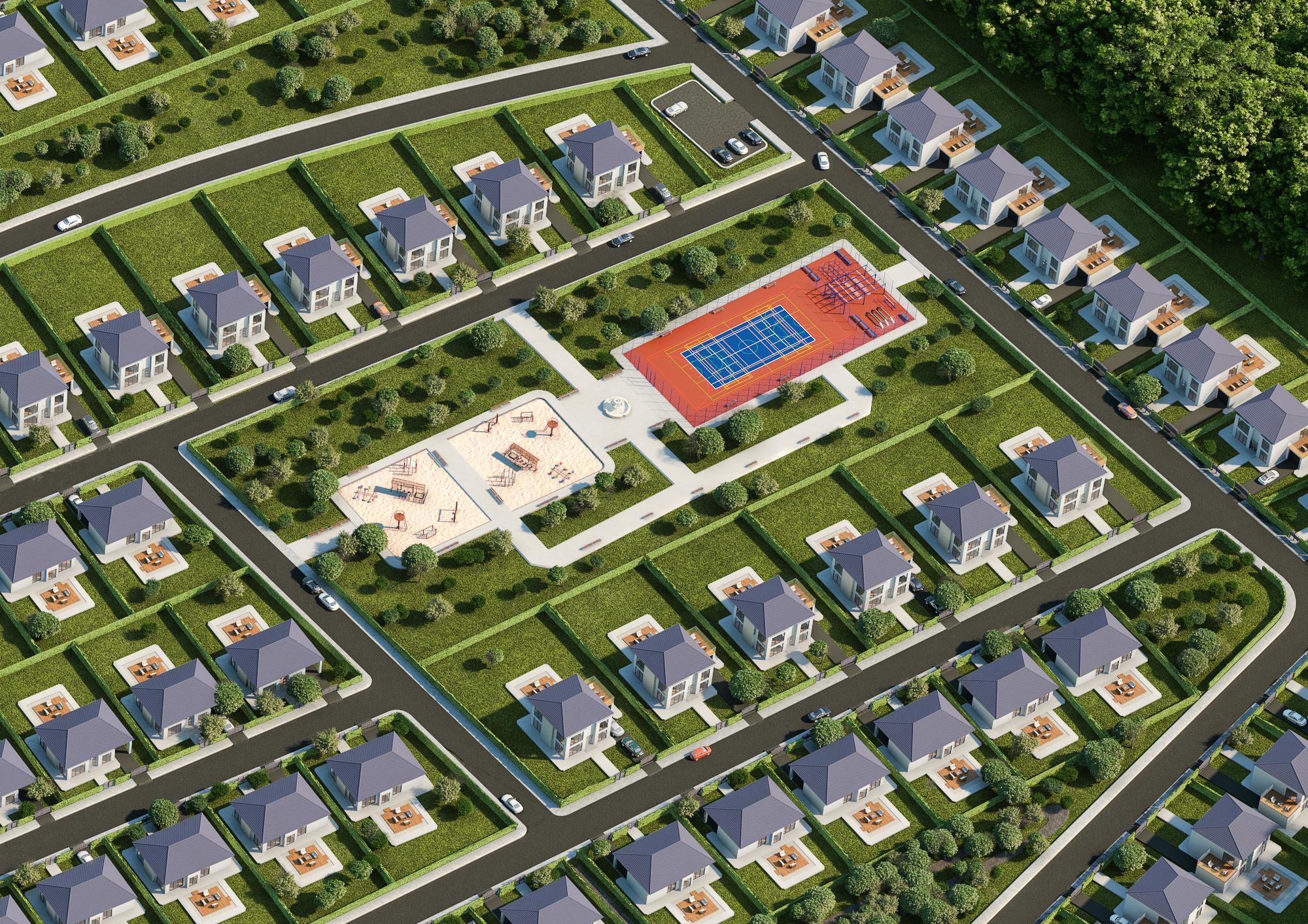settlement Vray