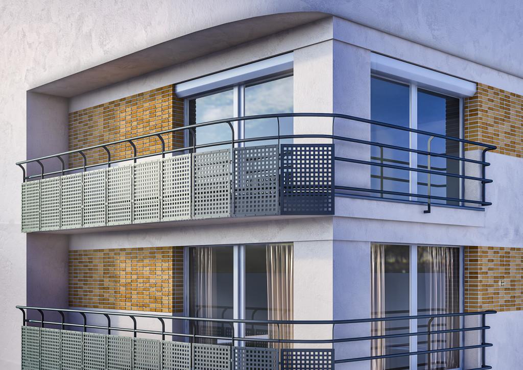 Lawski design two balcony designs for Balcony renovation